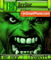 Hulk Theme-Screenshot