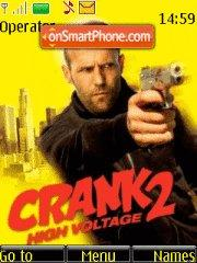 Crank: High Voltage theme screenshot