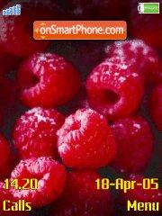 Raspberry es el tema de pantalla