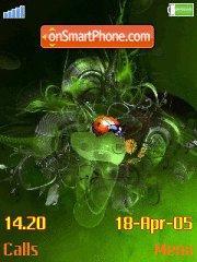 Beautiful ladybird es el tema de pantalla