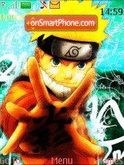 Green Naruto es el tema de pantalla