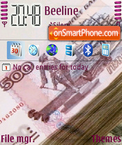 Money theme screenshot