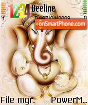 Lord Ganesha theme screenshot