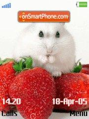Rat and Strawberry tema screenshot