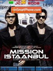 Mission Istaanbul theme screenshot