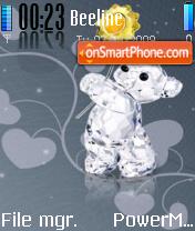 Glass Teddy theme screenshot