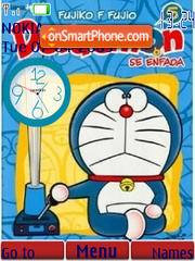 Doraemon theme screenshot