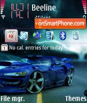 Dodge viper. theme screenshot