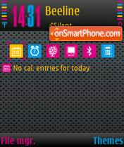 Color World 01 theme screenshot