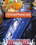 Bleach Toushiro theme screenshot