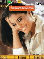 Kajol Devgan theme screenshot