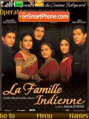 La Famille indienne theme screenshot