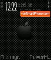 Black Apple es el tema de pantalla