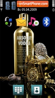 Absolut 05 theme screenshot