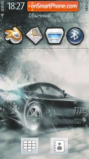 Benz 01 theme screenshot