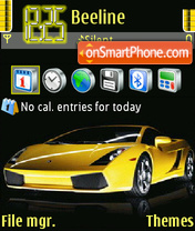 L Gallardo V3 theme screenshot