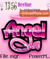 Angel es el tema de pantalla