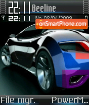 B-car theme screenshot