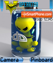 Bottled theme screenshot