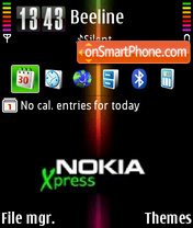 Xpress v1.1 01 theme screenshot