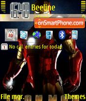 Iron Man 03 theme screenshot