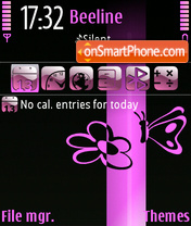 Spring Pink theme screenshot