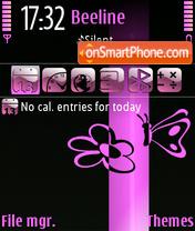 Spring Pink es el tema de pantalla