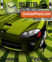 Gcar tema screenshot
