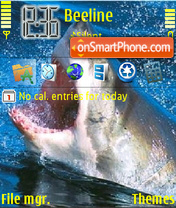 Shark theme screenshot