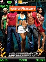 Dhoom-2 theme screenshot