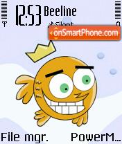 Cosmo Fish theme screenshot