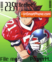 Sena Eyeshield 01 theme screenshot