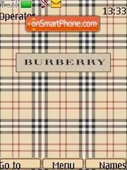Скриншот темы Burberry