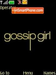 Gossip Girl 01 theme screenshot