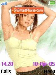 Preity Zinta tema screenshot