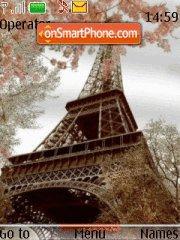 Eiffel Tower 04 theme screenshot
