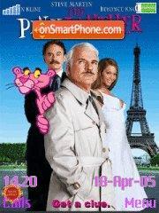 Pink panther es el tema de pantalla