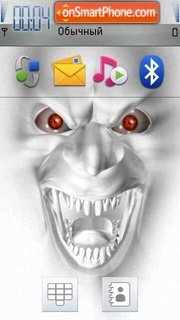 Scary Face 01 Theme-Screenshot