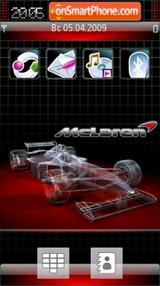 Mclaren F1 Team 5800 theme screenshot