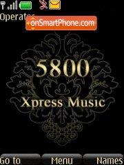 Nokia 5800 Gold theme screenshot