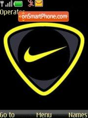 Скриншот темы Nike Yellow