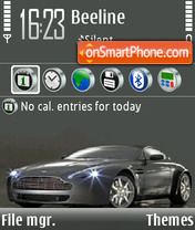 Aston Martin 14 theme screenshot