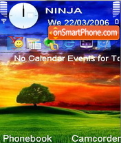 Vista Bliss theme screenshot