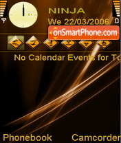Vista Brown theme screenshot