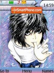 Ryuga Hideki (L) theme screenshot