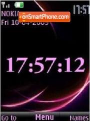 SWF clock animated Theme-Screenshot