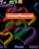 Cute Hearts es el tema de pantalla