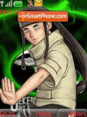Neji's Team theme screenshot