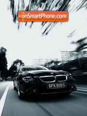 Black BMW theme screenshot