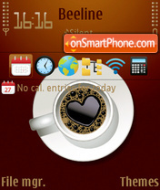 Coffee time 01 tema screenshot